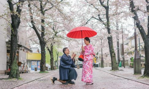 Surprise Marriage Proposal photographer in Kyoto and Tokyo