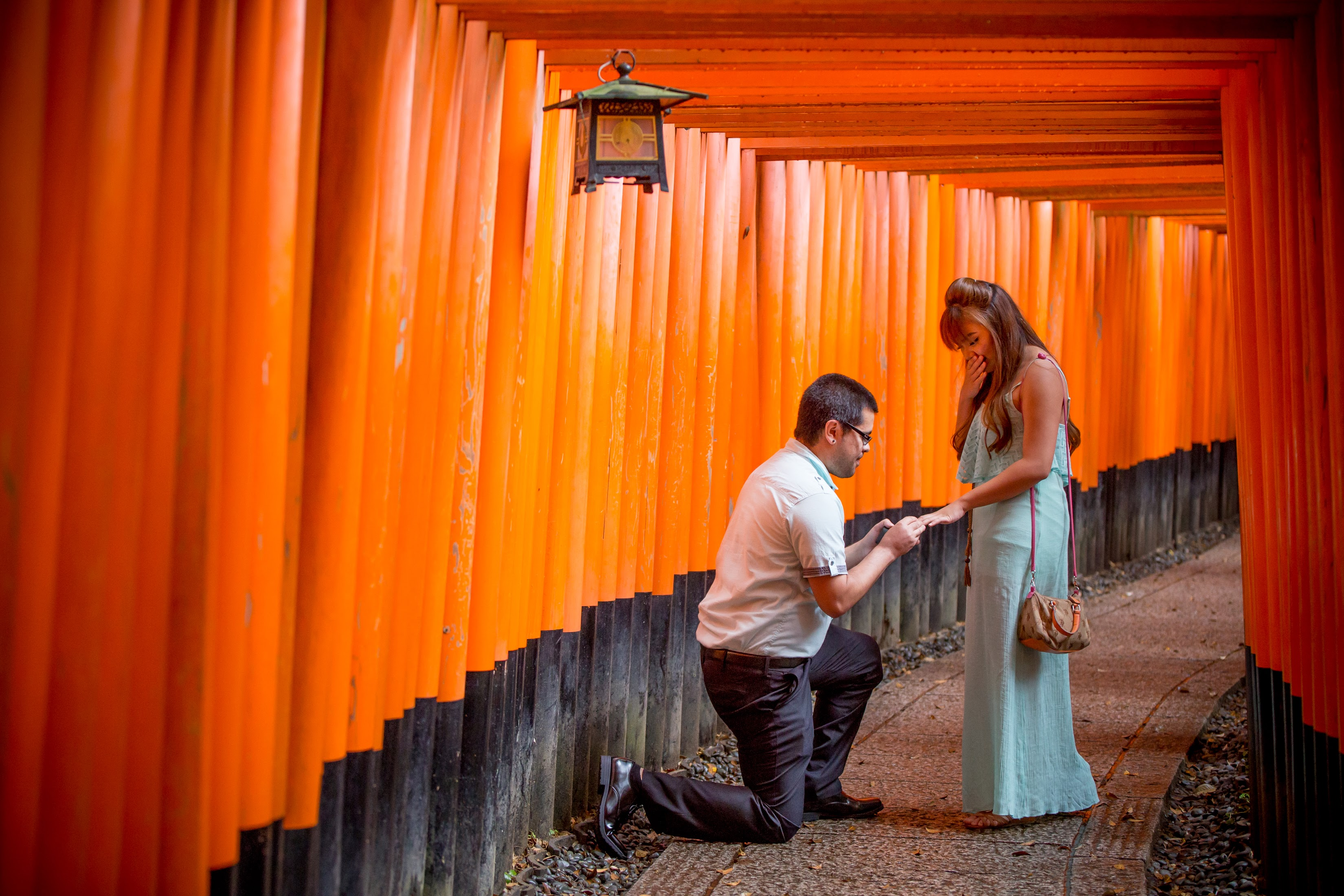 kyoto the best surprise marriage proposal photography in