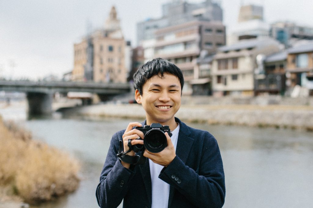 Photographer in Kyoto and Tokyo 其田有輝也
