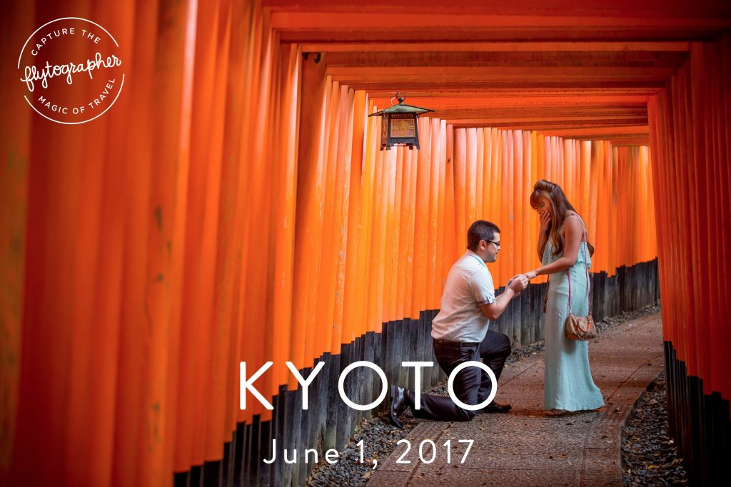 Photogrpher in Kyoto and Tokyo
