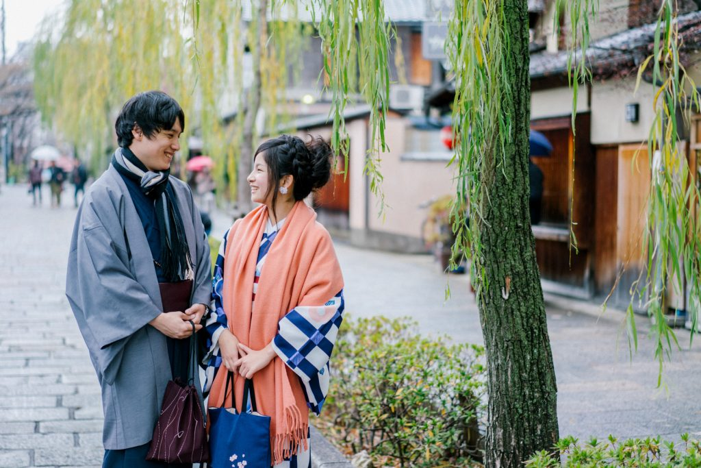 Freelance Wedding photographer in Kyoto