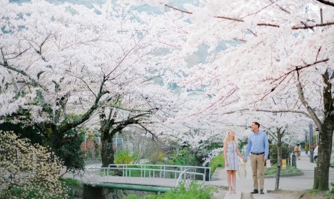 Engagement and proposal photo in Kyoto